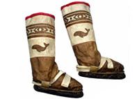 Festive Eskimo boots