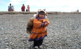 Yanrakynnot community. Childhood of Beringia