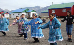Local dances are performed with tambourine