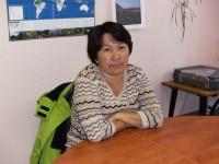 Ludmila Makotrik the delegate from Eskimo